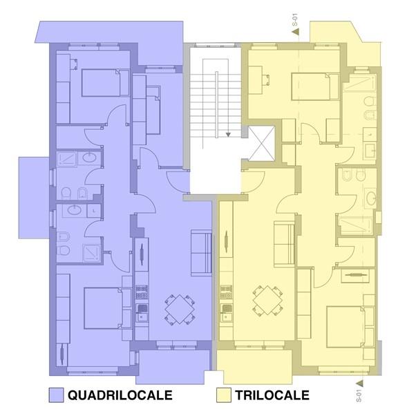 Come avviene frazionamento di un appartamento